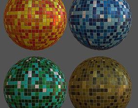mosaic tiles 3D