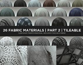 3D 26 Fabric Materials - Part 2