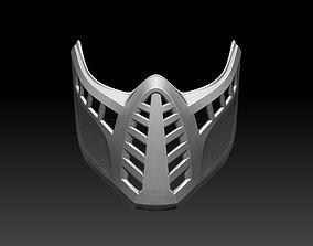 3D print model Scorpion mask for cosplay Mortal Kombat 2