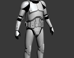 Clone Trooper Cosplay Armor 3D print model