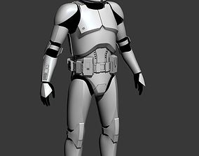 3D print model Clone Trooper Cosplay Armor