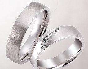 3D printable model Wedding rings 210