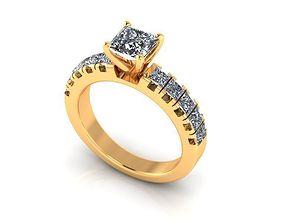 3D printable model Wedding Ring R44