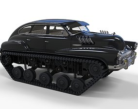 Tracked concept vehicle 3D model