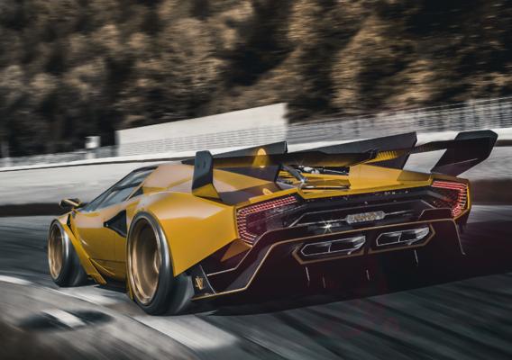 Lamborghini Countach concept