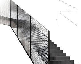 3D model Stair loft