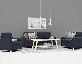 Esbjerg Sofa setup 3D model