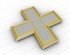 Cross jesus 3D model