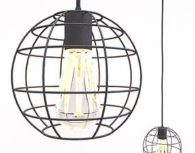 3D Handing lamp TheHata PR2175-1 BK ceiling