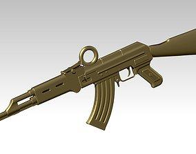 AK-47 assault rifle Kalashnikov HighPoly 3D print model