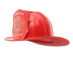 Firefighter Helmet 3D