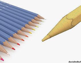 3D HD Color Pencil Pack