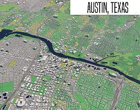 Austin Texas 3D
