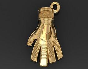 3D print model Goalkeeper Glove pendant