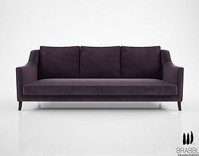 3D model Brabbu Como sofa