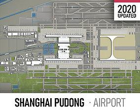 Shanghai Pudong International Airport - 3D asset