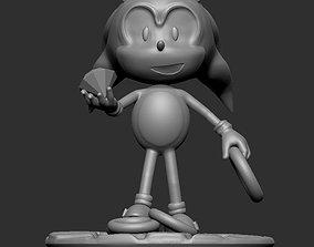 3D print model print Sonic the hedgehog