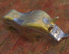 Rhinoceros 3D print model