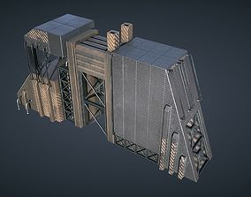 3D model Mars KitBash - Factory