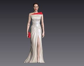 Angelina Jolie 3D Model ready for 3d print
