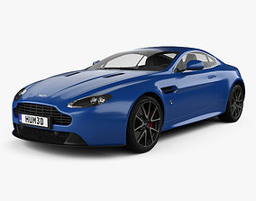 3D Aston Martin V8 Vantage S 2015