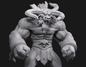 League Of Legends Alistar 3D print model