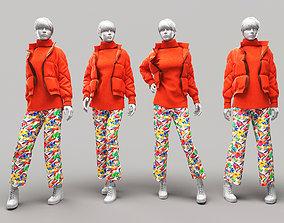 Woman Mannequin 8 3D model
