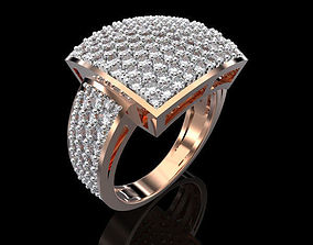3D printable model RING ALLURE ANTIQUE 15