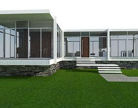 MINIMALIST HOUSE 3D model game-ready