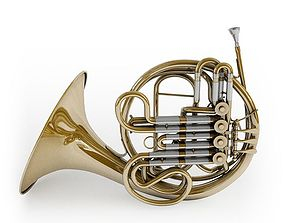 3D model Majestic Classic French Horn