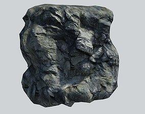 Rocky Cliff 3D asset