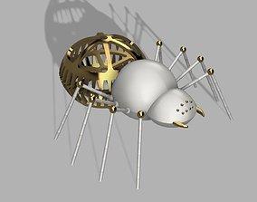 3D print model Steampunk Spider