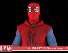 Spider-Man - HomeMade Suit 3D model