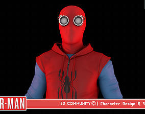 Spider-Man - HomeMade Suit 3D model