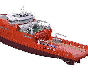 Anchor Handling Tug Supply 3D model