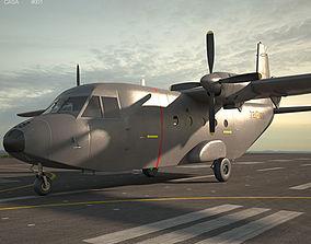 3D model CASA C-212 Aviocar