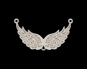 3D print model Pendant angel wings