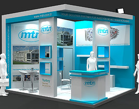 3D model Exhibition Stand - ST0059