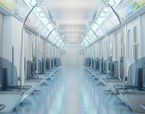 train interior made in blender 3D