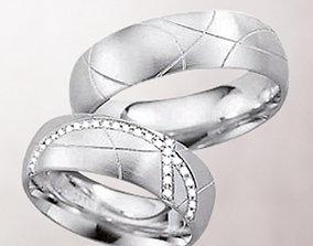 3D print model Wedding rings 181