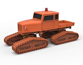 Diecast model Tucker Sno-Cat 442a Scale 1 to 24