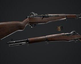 PBR - M1 Garand 3D asset