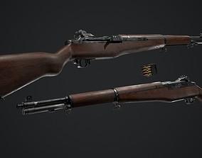 3D asset PBR - M1 Garand