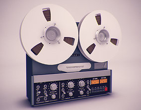 Old Tape Recorder 3D