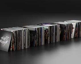 Vinyl LP Collection 3D