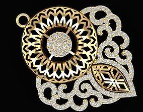 3D printable model 509 Diamond Pendant for women