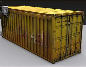 Container 3D model box
