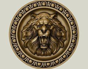 Lion Head cnc 3D print model