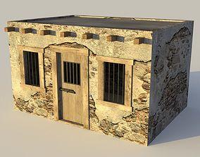 3D model Western Jail