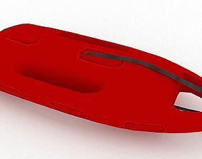 Surfboard 01 3D model